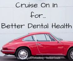 Dental Practice Tips and Ideas for June 2020 | Cruise on in for better dental health Oral Health, Dental Health, Dental Care, Dental Office Design, Dental Offices, Dental Practice Management, Coconut Oil For Teeth, Teeth Care
