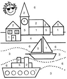 Printable Activities For Kids, Preschool Learning Activities, Toddler Activities, Preschool Activities, Art Drawings For Kids, Drawing For Kids, Triangle Drawing, Mathematics Geometry, Shapes Worksheets