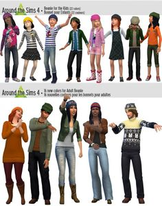 Around The Sims 4: Beanie • Sims 4 Downloads