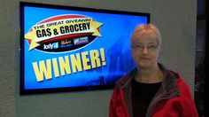 Congrats to Barb Miller who won $100 in The Great Gas & Grocery Giveaway from KXLY4, Divine's & Yokes!