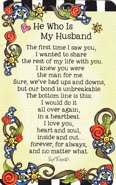 To all great Husbands