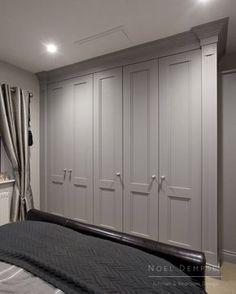 Richmond Painted Wardrobe - Home Design Inspiration Bedroom Built In Wardrobe, Painted Wardrobe, Fitted Bedroom Furniture, Fitted Bedrooms, Closet Bedroom, Luxury Furniture, Wardrobe Storage, Bespoke Furniture, Furniture Online