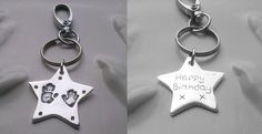 Star Key Ring.