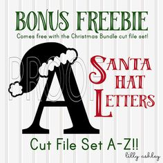 Christmas Cut Files