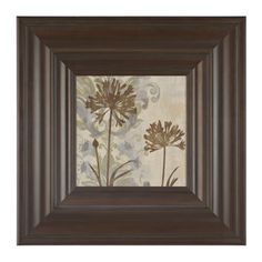 Floral Silhouettes II Framed Art Print | Kirklands