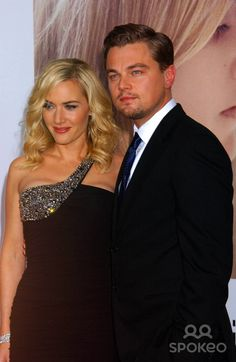 """""""Revolutionary Road"""" World Premiere Mann Village Theatre , Westwood, California 12-15-2008 Photo by Phil Roach-ipol-Globe Photos, Inc. Leonardo Dicaprio and Kate Winslet"""