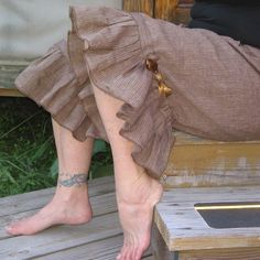 I love bloomers worn as trousers, especially with a kickin' pair of boots, or flipflops.