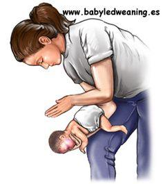 BLW: ¿Qué hacer ante un atragantamiento del bebé? Maniobra de Heimlich