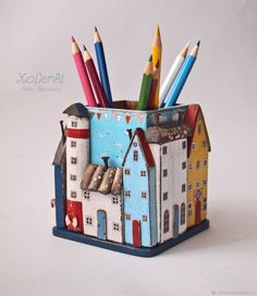 Sea Crafts, Home Crafts, Diy And Crafts, Arts And Crafts, Paper Crafts, Rustic Crafts, Wooden Crafts, Clay Art Projects, Wood Projects