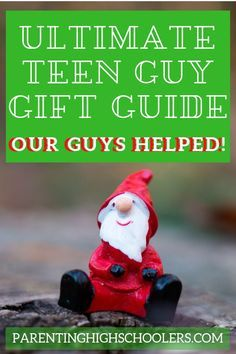 Looking for a great gift for your teenage guy? Teen boys can be notoriously hard to shop for. Let us help! Our boys helped us with this list, so the work is done for you! Teen Guy Gifts, Gifts For Teenage Guys, Gifts For Teens, Boy Gifts, Middle School Boys, High School, Birthday Party For Teens, Parenting Teens, Geek Gifts