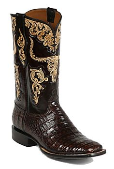 Black Jack make some of the coolest looking boots - great quality too! Can't beat caiman with steer skull tooling.