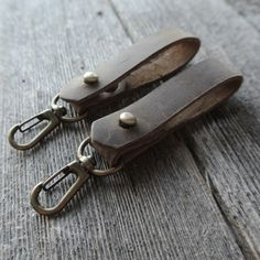 Stock & Barrel Leather Key Clip