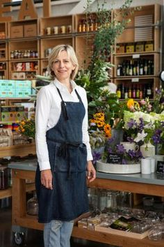 Delicious linen and cotton aprons at Healdsburg SHED