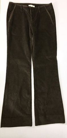0f61dc45f72 BANANA REPUBLIC Womens Brown Corduroys Size 4   Stretch Cotton Bootcut  Pants  BananaRepublic  Corduroys