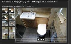 Concealed cistern in vanity - marcinbathrooms.com