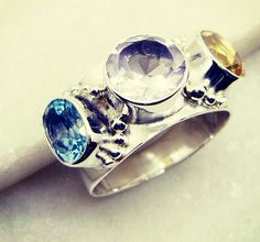 #bbq #jualbajubangkok #norwegian #쇼핑 #бохо #bohojewelry #DeliacteRing #ring #silver #gemstone #semiprecious #color #multi #handmade #gems #jewelry #riyo #drink #photoftheday #etsyshop