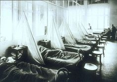 American Expeditionary Force victims of the flu pandemic at U.S. Army Camp Hospital no. 45 in Aix-les-Bains, France, in 1918