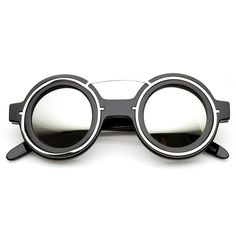 cbe32bad5322 Black Silver Mirror Festival Sunglasses