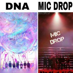 DNA or MIC DROP ?❤. . . . . #BTS #BangtanSonyeondan #BangtanBoys #BeyondTheScenes #Jimin #Jungkook #V #Jhope #Suga #Jin #RapMonster Bts Suga, Jimin Jungkook, Mic Drop, Rap Monster, Dna, Movie Posters, Instagram, Film Poster, Popcorn Posters