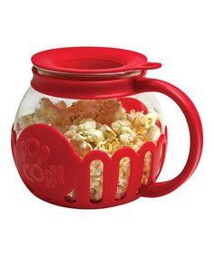 Red Snack Size Micro-Pop Popcorn Popper #zulily #zulilyfinds