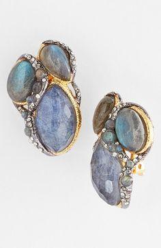 Alexis Bittar 'Elements - Jardin de Papillon' Clip Earrings available at #Nordstrom