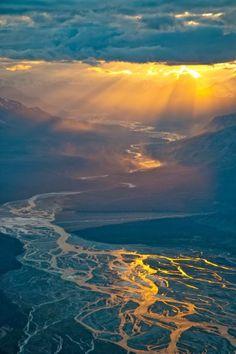 Kluane National Park, Yukon, Canada Beautiful Sky, Beautiful World, Beautiful Landscapes, Beautiful Places, Amazing Places, Stunning View, Amazing Things, Simply Beautiful, Absolutely Gorgeous
