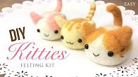 Kawaii DIY Kittens - Relaxing ASMR Craft Tutorial https://www.youtube.com/watch?v=3Eu1CIeYp0A