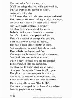 love life beautiful words live writing word inspirational Awkward poetry poem write poet writer poetic self love Metaphor thepoeticunderground