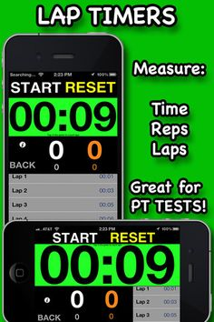 TIMERS PRO - Tabata, CrossFit, WOD and Interval Timers ($0.00 on 2/23/13 free for a few days) a full featured, easy to use professional Tabata Timer   Has 6 built in timers that are completely customizable and an in app music player.  -MAIN FEATURES-  Simple to use design (kindergarteners are now using this in their school fitness programs!!)  *App will NEVER fall asleep!!!  *Features 6 state of the art timers  -Stopwatch   -Countdown  -Lap Timer  -OVERSIZED Countdown timer  -OVERSIZED Stopw...