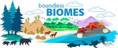 Story and learning materials about the biomes of the world. This links to the nine major biomes in the world. Earth Science Lessons, Biology Lessons, Teaching Biology, Life Science, Teaching Resources, Rainforest Biome, Montessori Science, Animal Adaptations, Physical Education Games