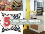 """Every so often, a room just needs freshening. Try one of these quick updates that can help give your room a whole new look in less than 60 minutes.1: Clean and declutter Often the """"decor"""" that weighs heaviest..."""