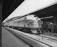 B&O's NATIONAL LIMITED, St. Louis Union Station, June 3, 1957