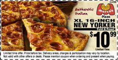 Get 2 Marco's Pizza coupon codes and promo codes to save. Save with Marco's Pizza Promotion!