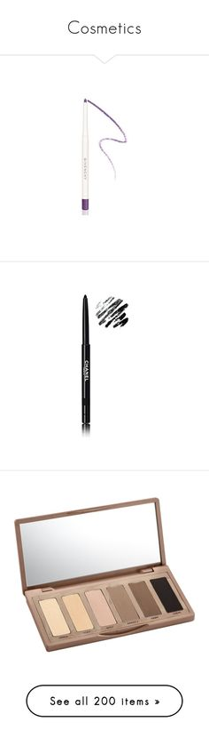 """""""Cosmetics"""" by erihiro ❤ liked on Polyvore featuring beauty products, makeup, eye makeup, eyeliner, lilac, long wear eyeliner, givenchy eyeliner, givenchy, eye pencil makeup and long wearing eyeliner"""