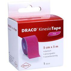 DRACO KINESIOTAPE 5 cmx5 m pink:   Packungsinhalt: 1 St Verband PZN: 10330158 Hersteller: Dr. Ausbüttel & Co. GmbH Preis: 8,28 EUR inkl.…
