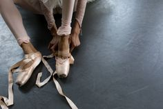 ...get on pointe...and that's the point...