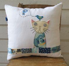 cat cushion | by syko Kajsa