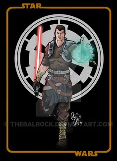 Starkiller Galen Marek - Star Wars by thebalrock