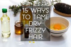How to tame your frizzy hair.