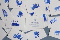 Branding / Sweet Greek designed by Studio Brave