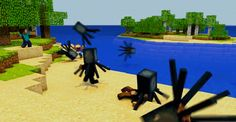 HAHAHAA Reminds me of 'Sharknado' except with squids in minecraft
