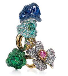 Russian Redux Fabergé Rings