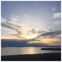 Sea  #marseille #iphoneography #iphone #sunset #sea