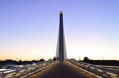 Photograph - Puente Del Alamillo Bridge Seville Spain by Marek Stepan