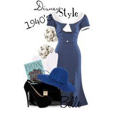 """Disney Style : Belle"" by missm26 on Polyvore"