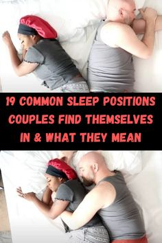 Most people think that sleeping positions are only about comfort. Does the position that a couple sleeps in actually say something else about their relationship though? Healthline recently put out an interesting article with more information on the subject.