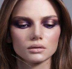Golden flesh, smoky plum, sienna, electric violet, deep slate grey. Blush duo antique nude 03
