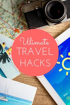 The ultimate list of #travel hacks- tips for everything from saving money to what to pack.