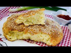 Azonnali kenyér 5 perc alatt - tökéletes reggelire - YouTube Bread Recipes, Cooking Recipes, Serbian Recipes, Middle Eastern Recipes, Kefir, Cornbread, Biscuits, Rolls, Homemade