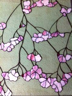 http://tmarohn.blogspot.com/2011/12/cherry-blossom-stained-glass-window.html